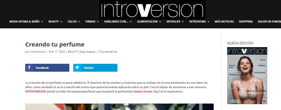Sandra Iruela Introversión