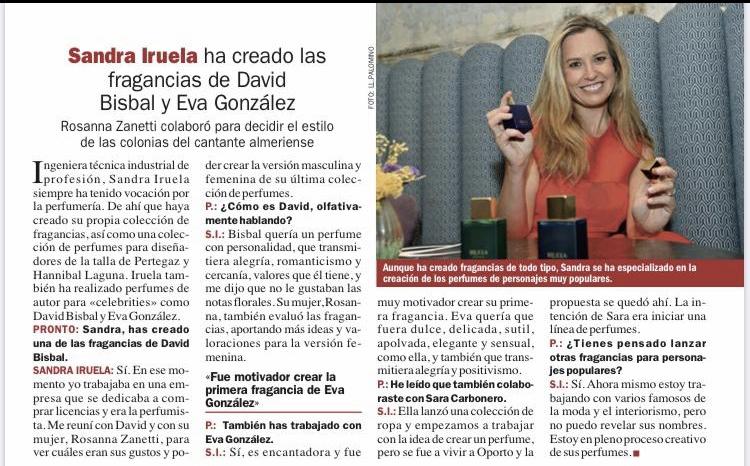 Sandra Iruela Revista Pronto